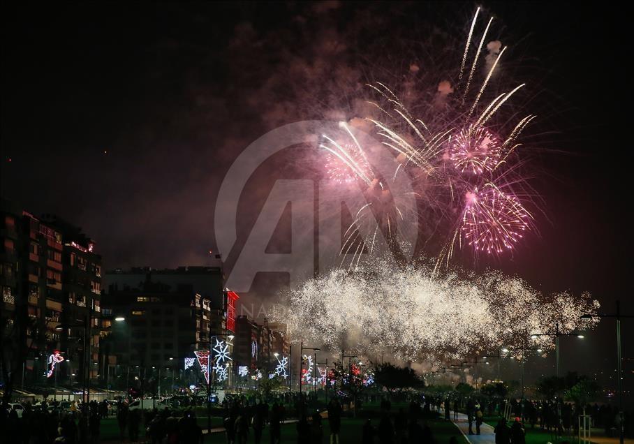 Ankara'da yılbaşı kutlamaları galerisi resim 6