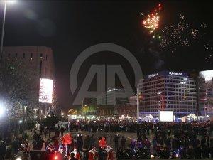 Ankara'da yılbaşı kutlamaları