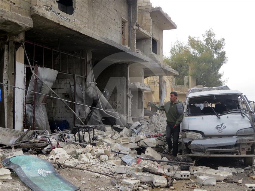 Esed'in İdlib'e hava saldırıları devam ediyor galerisi resim 3