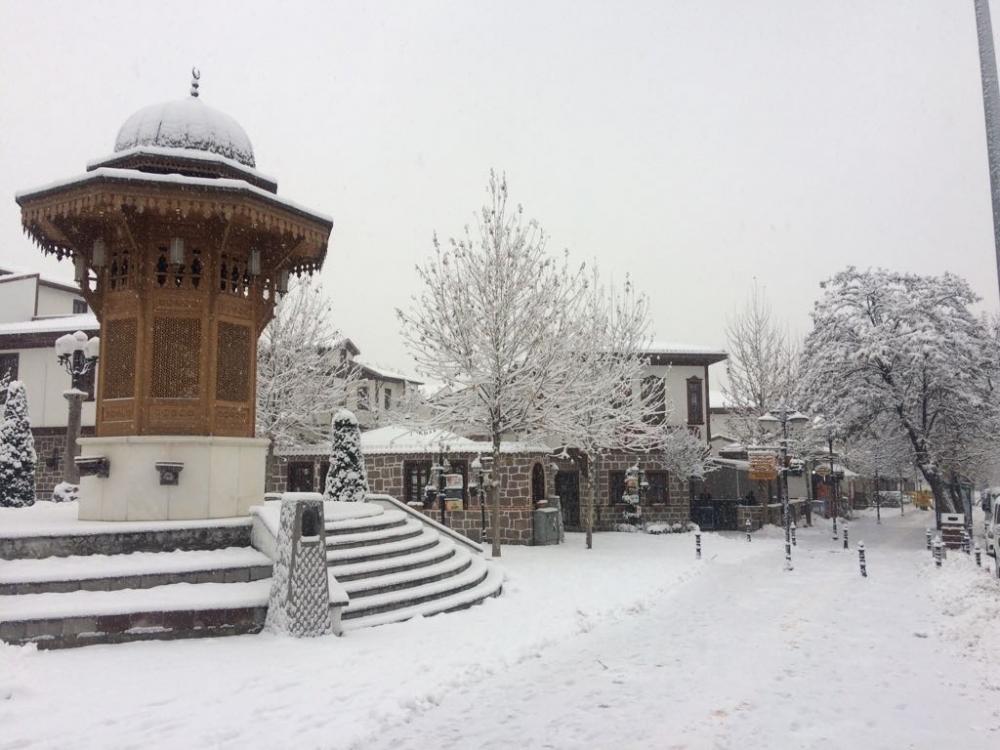 Kara hasret Ankara'dan 2017 kış manzaraları galerisi resim 9