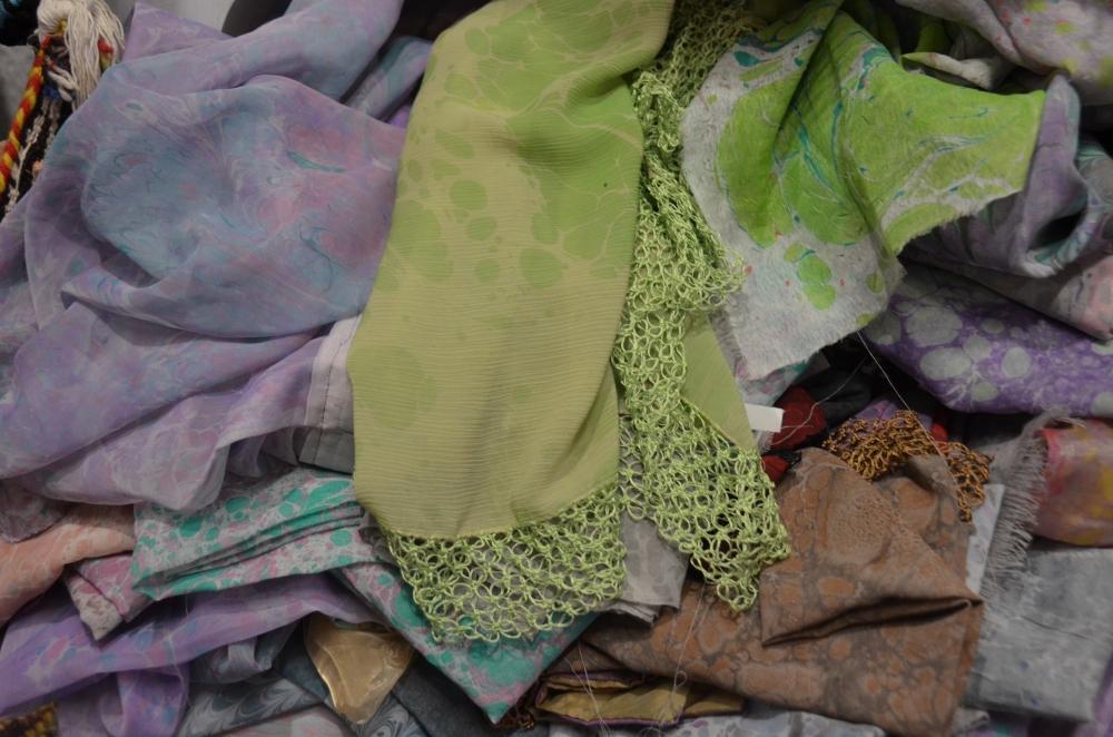 Ebru sanatı ile kendine özgü kıyafetler galerisi resim 2