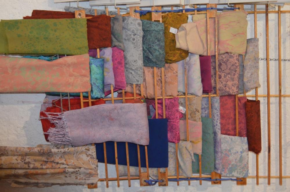 Ebru sanatı ile kendine özgü kıyafetler galerisi resim 5