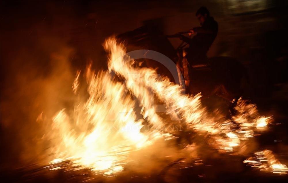 İspanya'da atlı günah çıkarma töreni galerisi resim 18