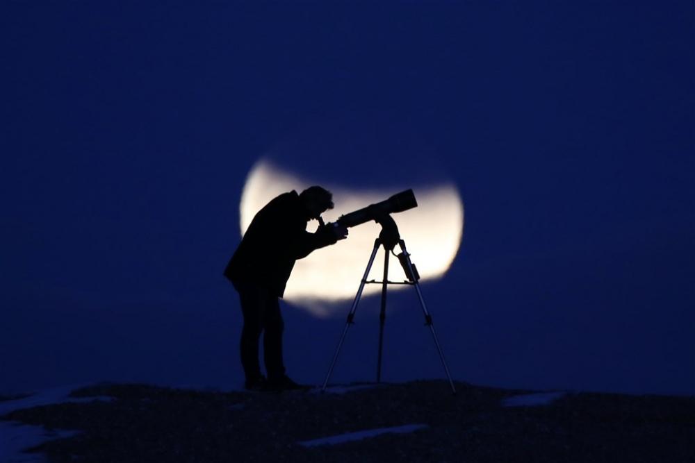'Süper Kanlı Mavi Ay Tutulması'ndan kareler galerisi resim 10