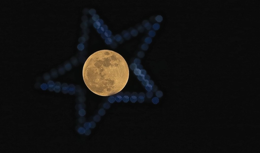 'Süper Kanlı Mavi Ay Tutulması'ndan kareler galerisi resim 14