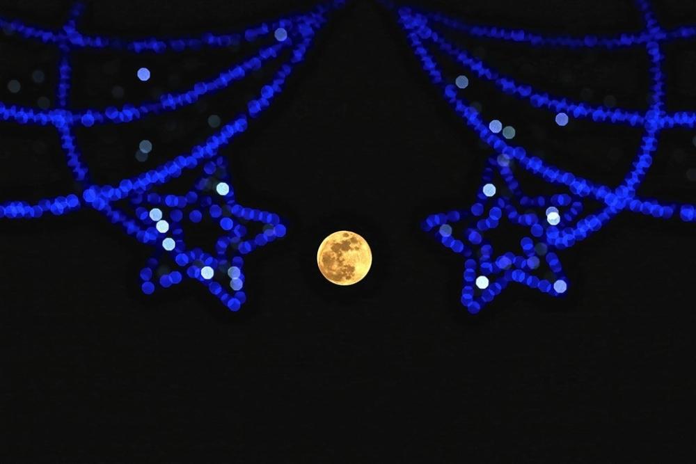 'Süper Kanlı Mavi Ay Tutulması'ndan kareler galerisi resim 18