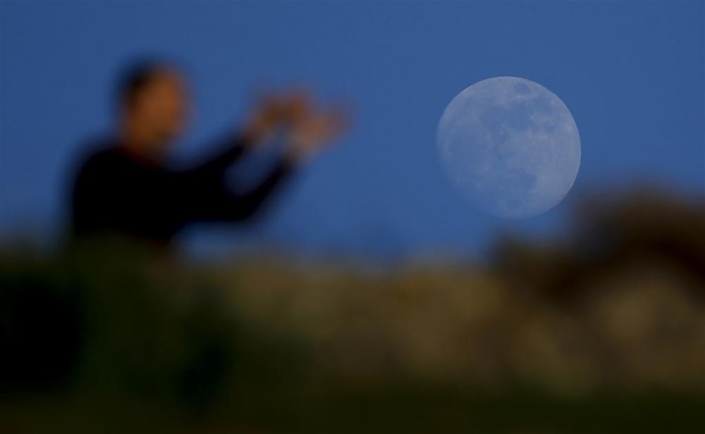 'Süper Kanlı Mavi Ay Tutulması'ndan kareler galerisi resim 7
