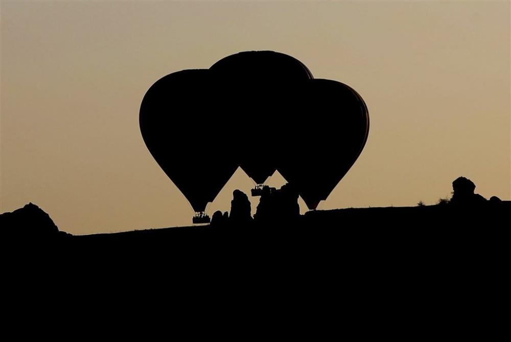 Kapadokya sıcak hava balonları galerisi resim 12