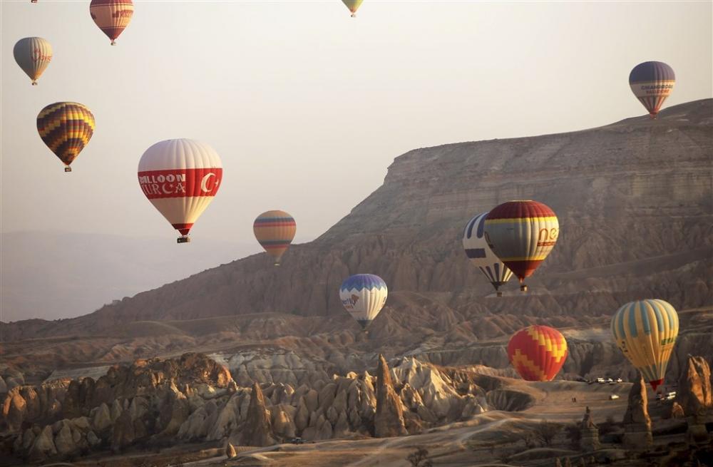 Kapadokya sıcak hava balonları galerisi resim 13