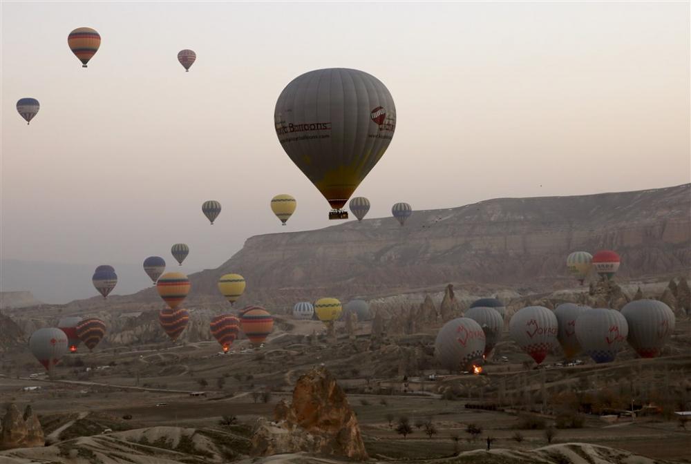 Kapadokya sıcak hava balonları galerisi resim 15