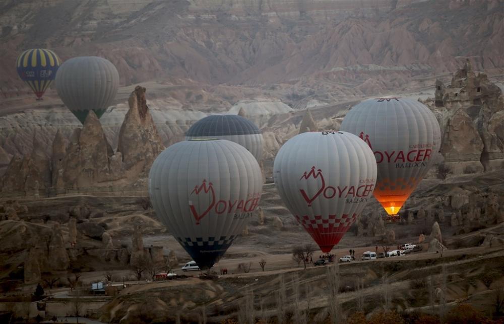 Kapadokya sıcak hava balonları galerisi resim 16