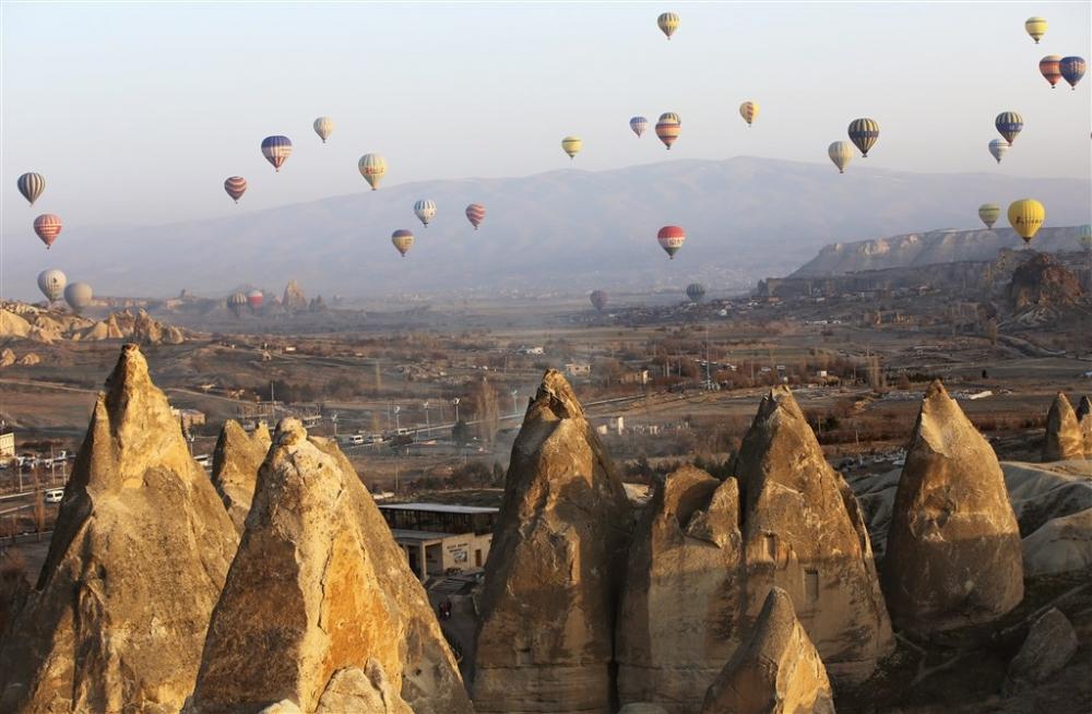Kapadokya sıcak hava balonları galerisi resim 18