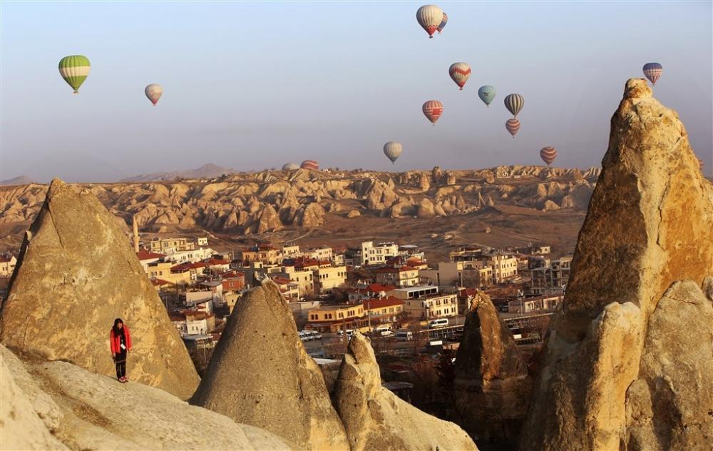 Kapadokya sıcak hava balonları galerisi resim 20
