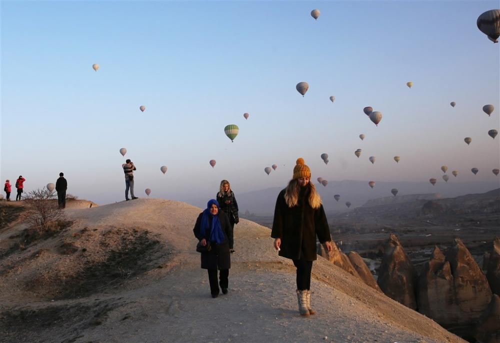 Kapadokya sıcak hava balonları galerisi resim 3