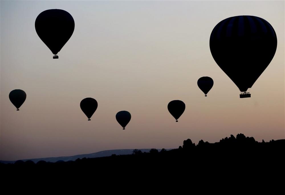 Kapadokya sıcak hava balonları galerisi resim 4