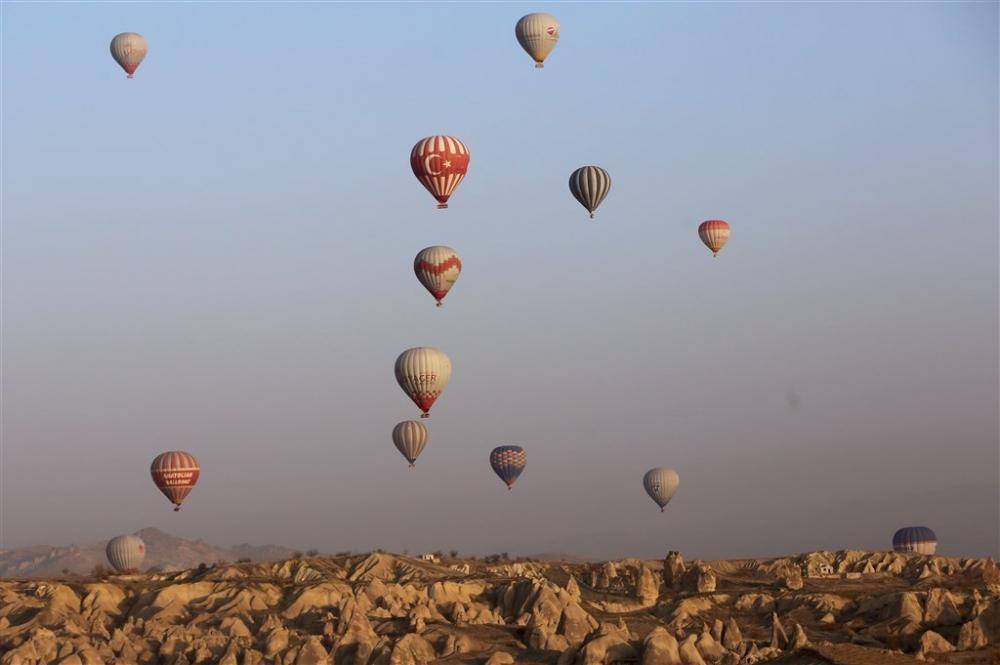 Kapadokya sıcak hava balonları galerisi resim 5