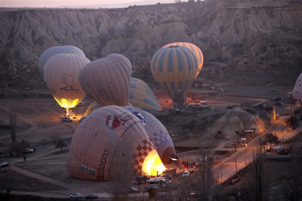 Kapadokya sıcak hava balonları galerisi resim 9