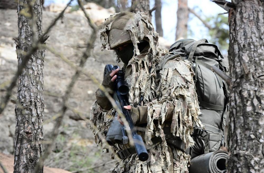 PKK'nın korkulu rüyası keskin nişancıları Afrin'de galerisi resim 11