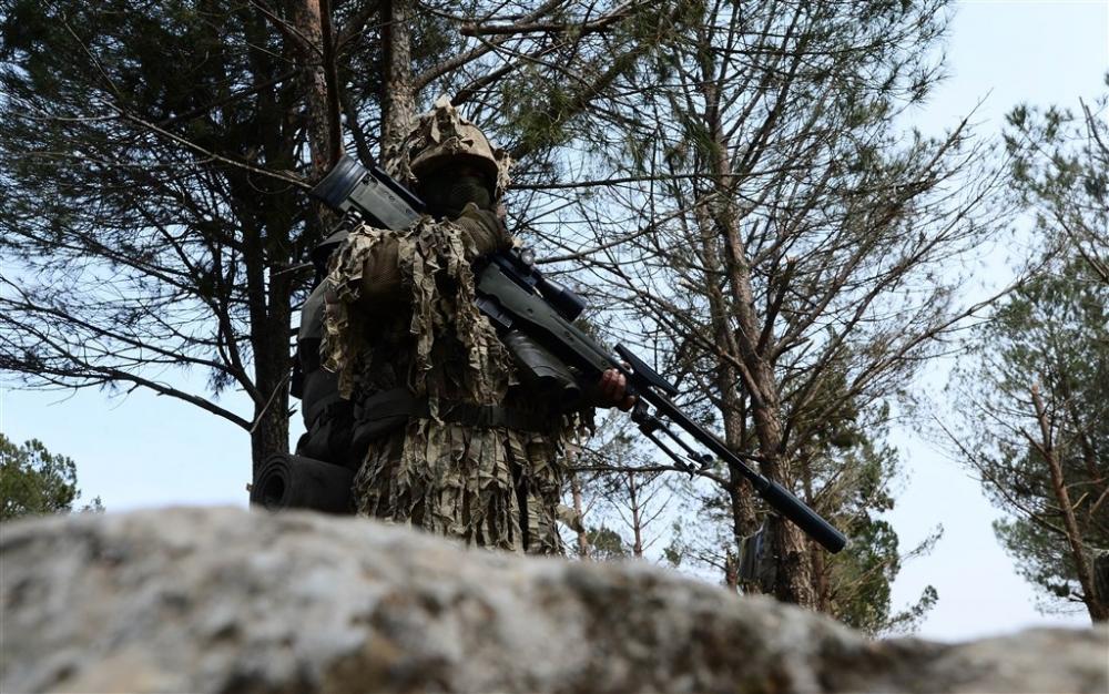 PKK'nın korkulu rüyası keskin nişancıları Afrin'de galerisi resim 12