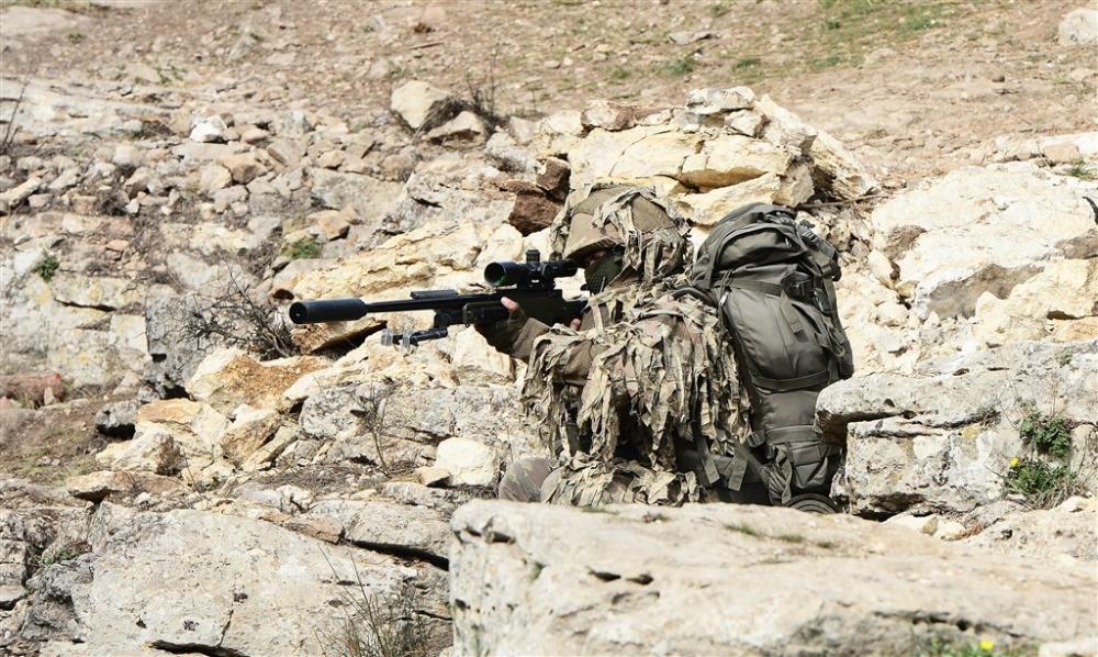 PKK'nın korkulu rüyası keskin nişancıları Afrin'de galerisi resim 14