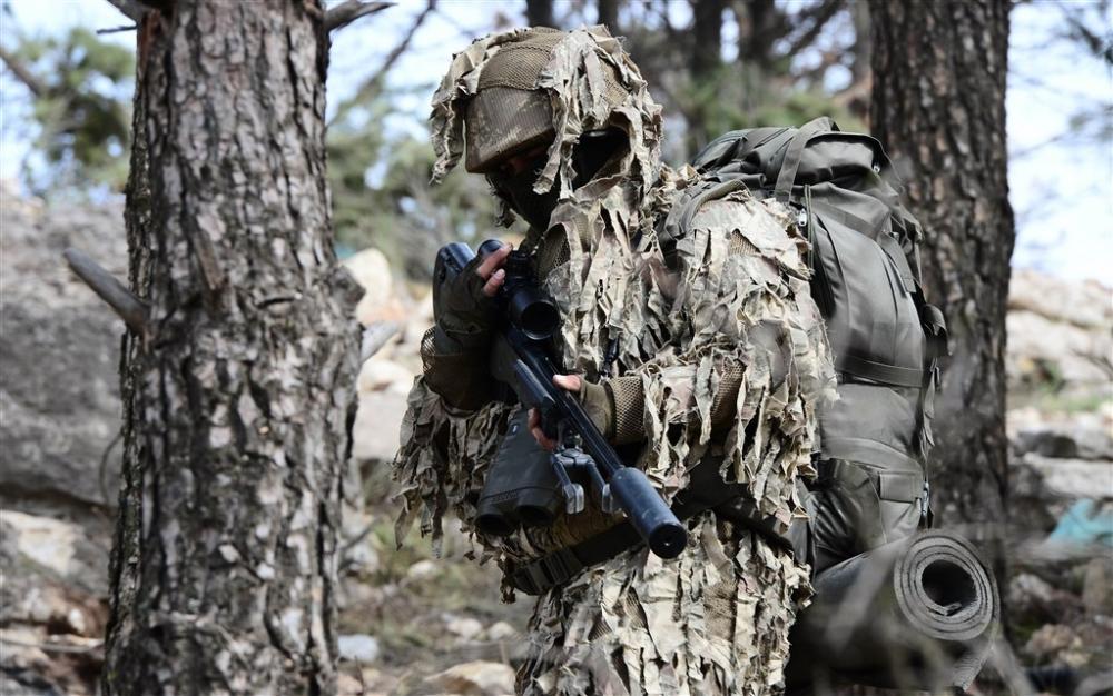 PKK'nın korkulu rüyası keskin nişancıları Afrin'de galerisi resim 16