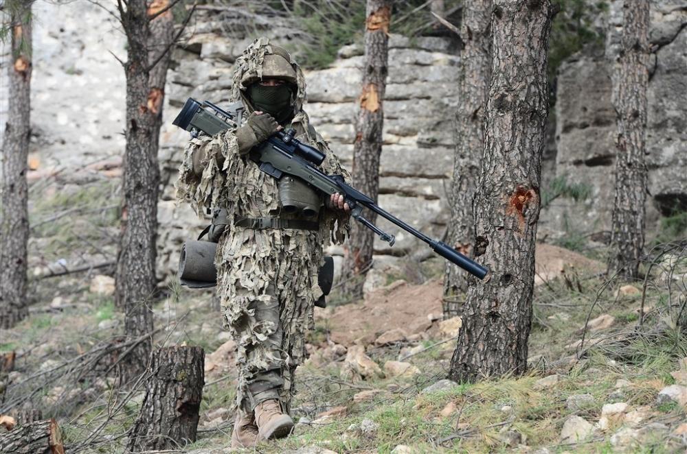 PKK'nın korkulu rüyası keskin nişancıları Afrin'de galerisi resim 20