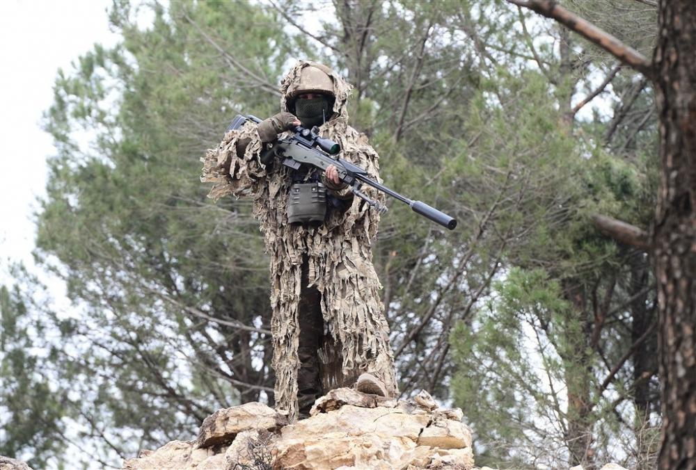 PKK'nın korkulu rüyası keskin nişancıları Afrin'de galerisi resim 4
