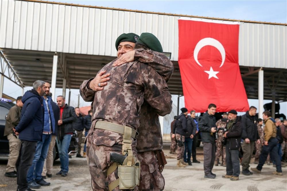 PÖH'ler dualarla Afrin'e uğurlandı galerisi resim 17