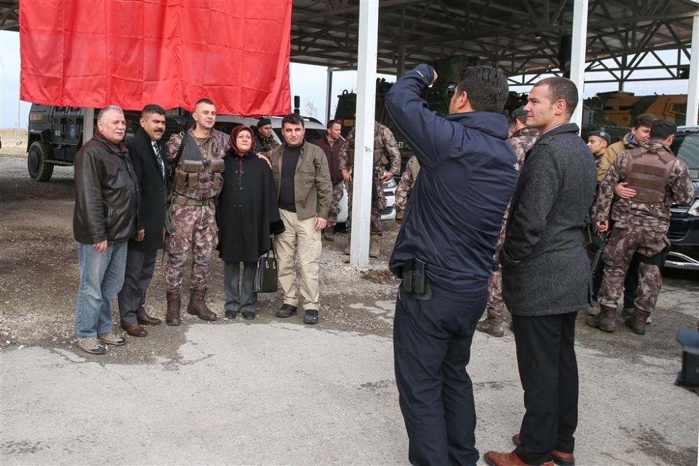 PÖH'ler dualarla Afrin'e uğurlandı galerisi resim 7