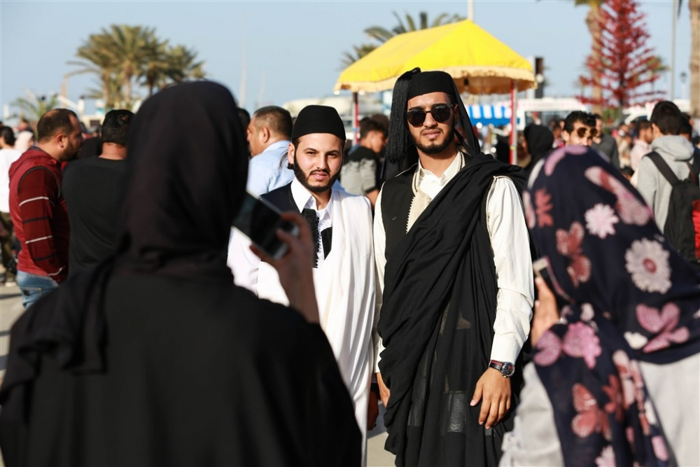 Libya'da 'Geleneksel Kıyafet Günü' kutlamaları galerisi resim 15