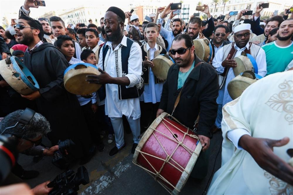 Libya'da 'Geleneksel Kıyafet Günü' kutlamaları galerisi resim 16