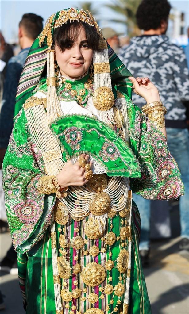 Libya'da 'Geleneksel Kıyafet Günü' kutlamaları galerisi resim 3