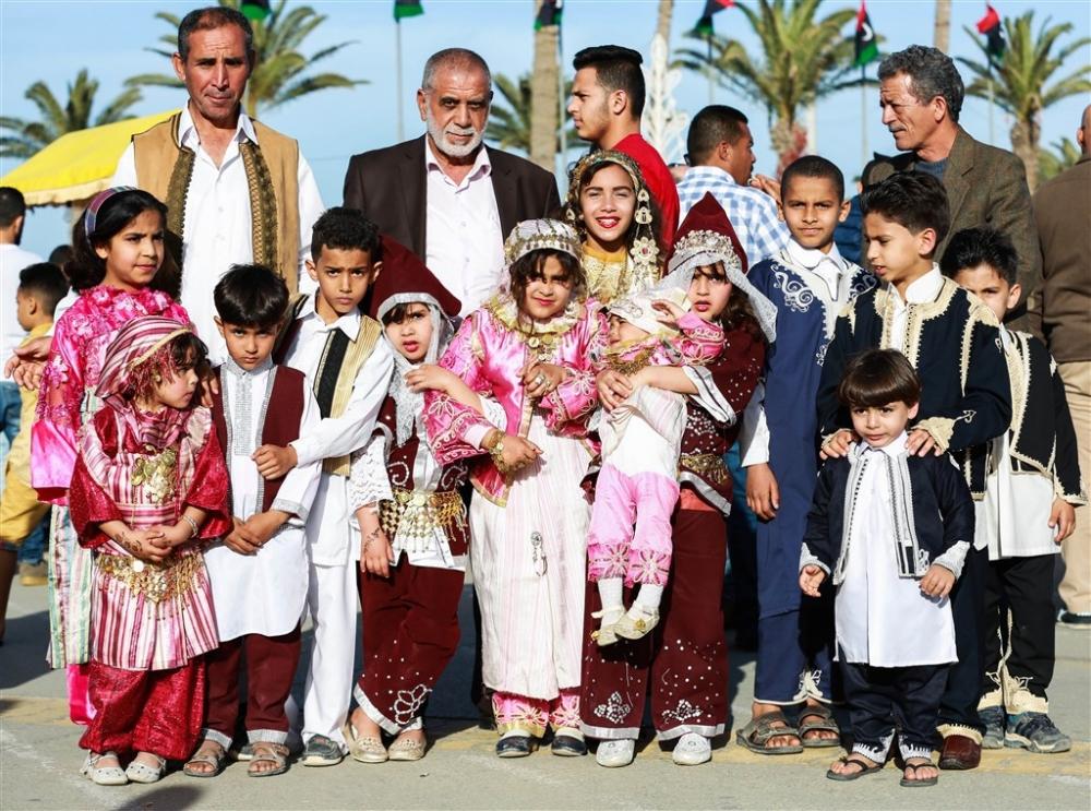 Libya'da 'Geleneksel Kıyafet Günü' kutlamaları galerisi resim 6