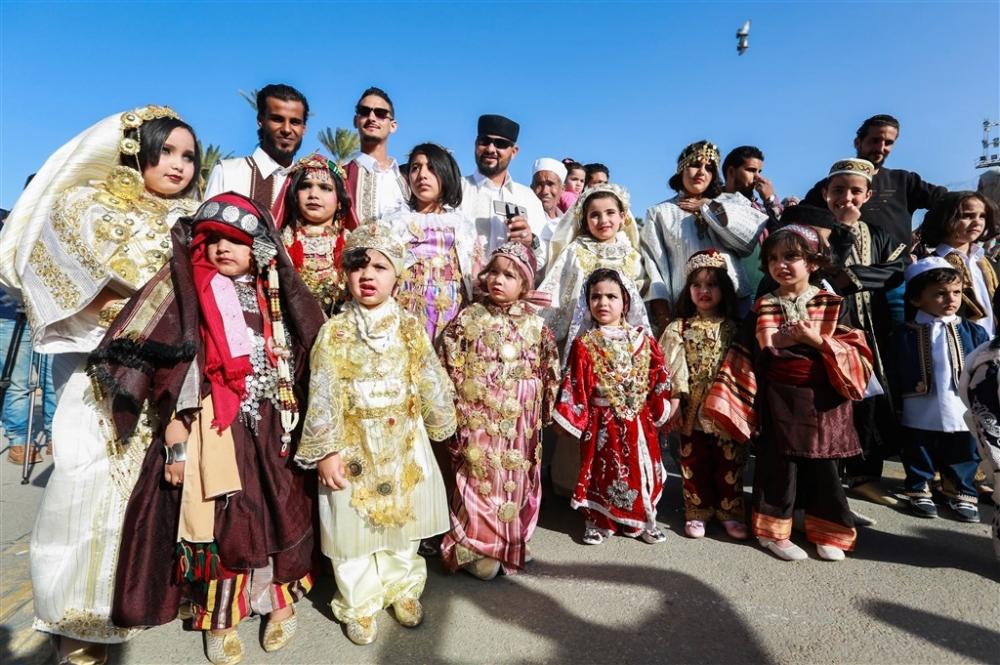 Libya'da 'Geleneksel Kıyafet Günü' kutlamaları galerisi resim 8
