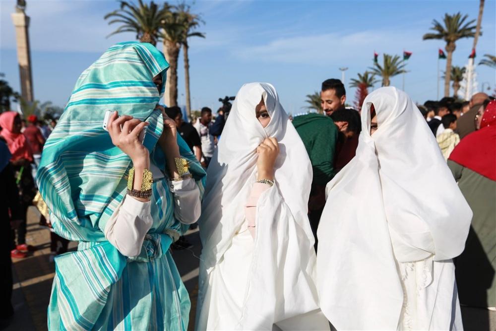 Libya'da 'Geleneksel Kıyafet Günü' kutlamaları galerisi resim 9