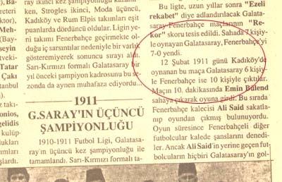 Fenerbahçe Galatasaray debileri galerisi resim 20