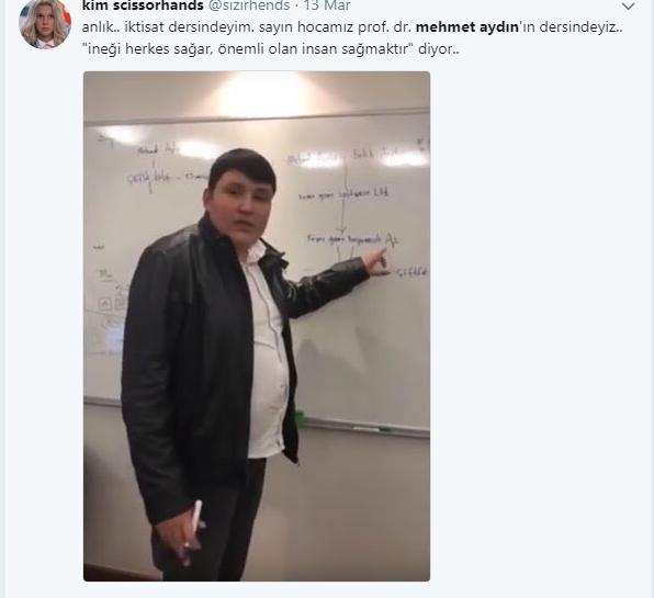 Çiftlik Bank'ın sahibi Mehmet Aydın'ın için atılan Tweetler galerisi resim 1