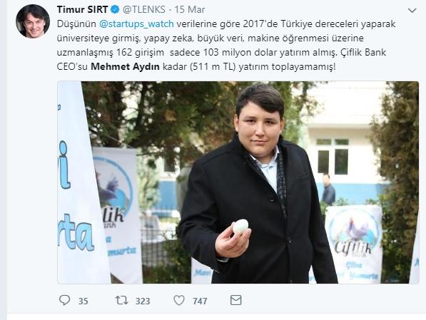Çiftlik Bank'ın sahibi Mehmet Aydın'ın için atılan Tweetler galerisi resim 3