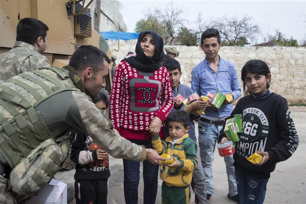 Mehmetçik'e Afrin'de sevgi gösterisi galerisi resim 14