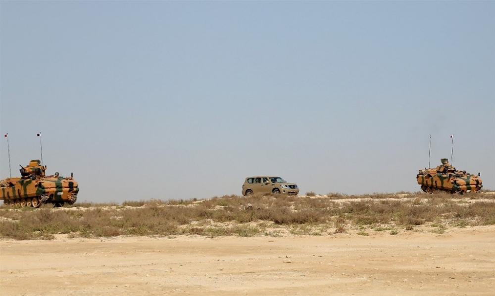 Katar ve Türkiye'den askeri tatbikat galerisi resim 4