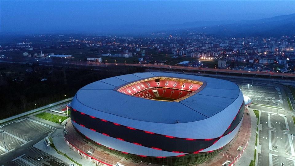 Samsun'un yeni stadı 'Dünyanın en iyi 10 stadı' arasına girdi galerisi resim 1