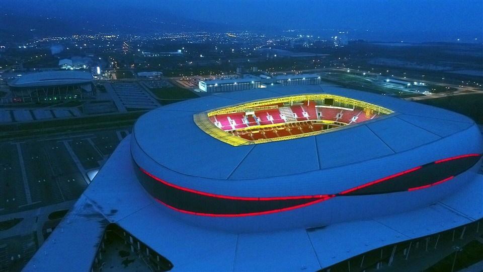Samsun'un yeni stadı 'Dünyanın en iyi 10 stadı' arasına girdi galerisi resim 12