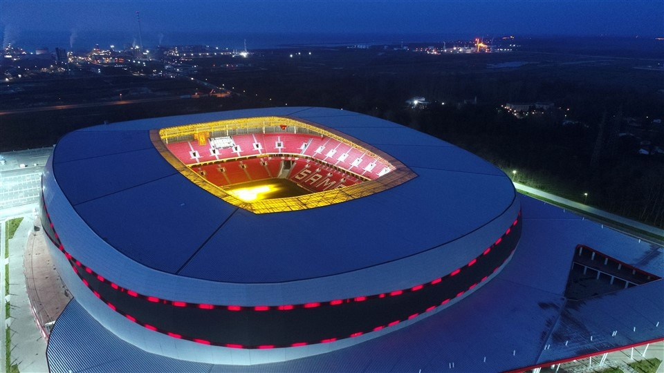 Samsun'un yeni stadı 'Dünyanın en iyi 10 stadı' arasına girdi galerisi resim 13