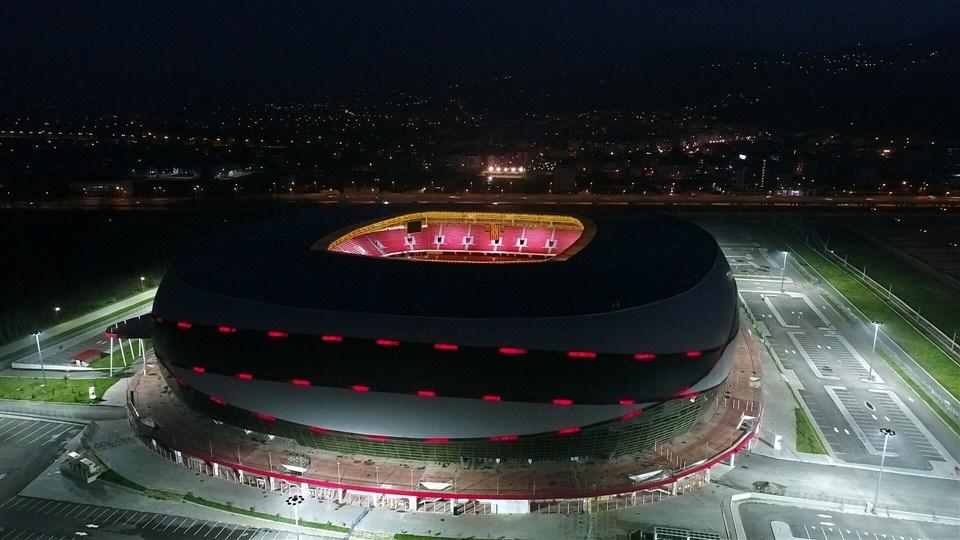 Samsun'un yeni stadı 'Dünyanın en iyi 10 stadı' arasına girdi galerisi resim 19