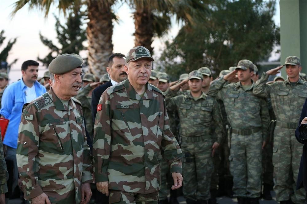 Erdoğan ve ünlü isimler sınırda askere moral verdi galerisi resim 31