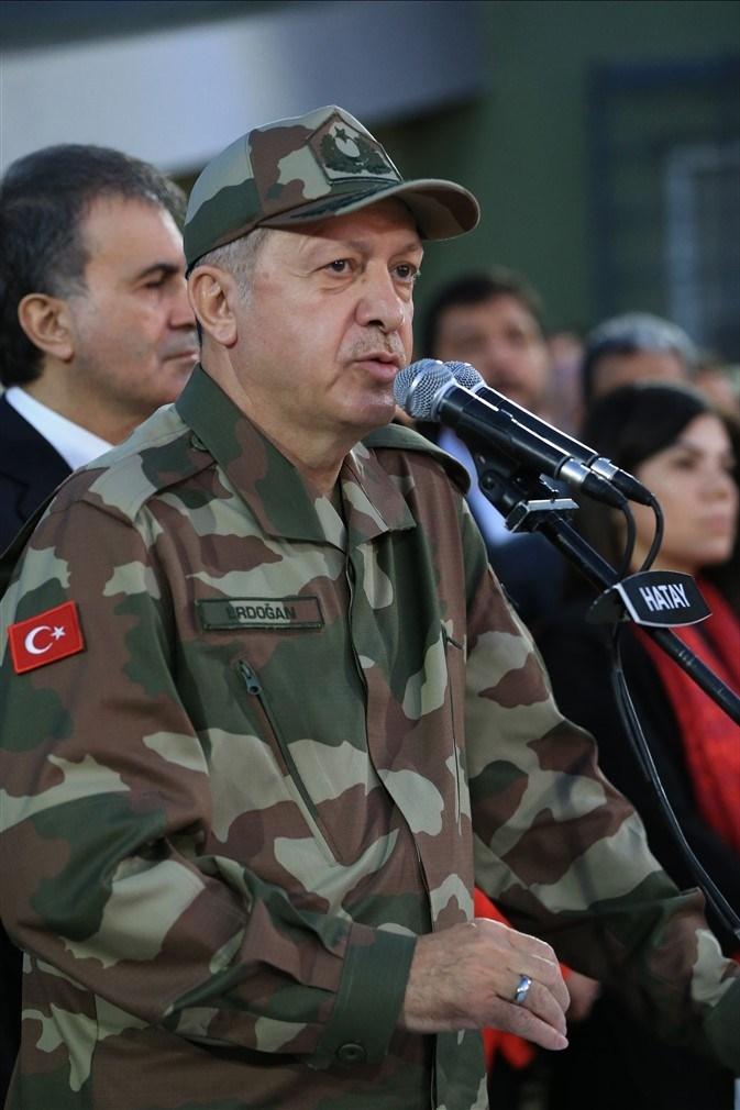 Erdoğan ve ünlü isimler sınırda askere moral verdi galerisi resim 41