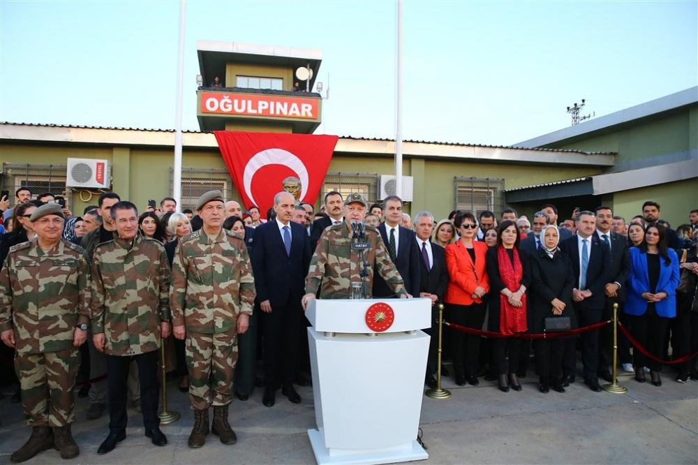 Erdoğan ve ünlü isimler sınırda askere moral verdi galerisi resim 53