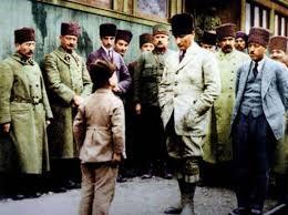 Atatürk'ün çocuk sevgisi galerisi resim 13