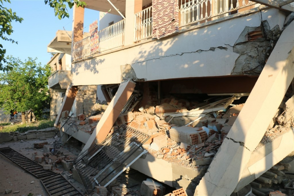 Adıyaman'da 5,1 büyüklüğünde deprem galerisi resim 29