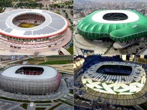 Türkiye'nin 2024 Avrupa Şampiyonası'na aday 9 stadı